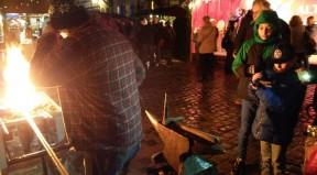 Klecker TV am Weihnachtsmarkt